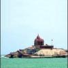 कन्याकुमारी सागरतट पर एक शहर
